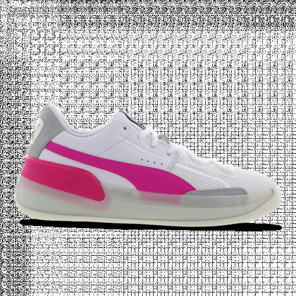 Puma Clyde Hardwood White Pink - 193663-03