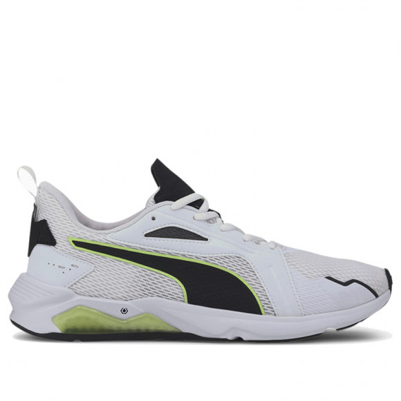 PUMA LQDCELL Method Men's Training Shoes in White/Black/Fizzy - 193685-02