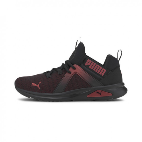 PUMA Enzo 2 Fade Men's Training Shoes in Black/High Risk Red - 193712-03