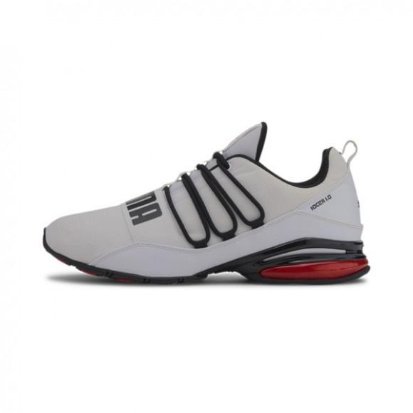 PUMA CELL Regulate Mesh Men's Training Shoes in White/Black/High Risk Red - 193720-03