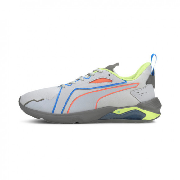 PUMA x FIRST MILE LQDCELL Method Xtreme Men's Training Shoes in Light Grey/Yellow/Grey - 193726-01