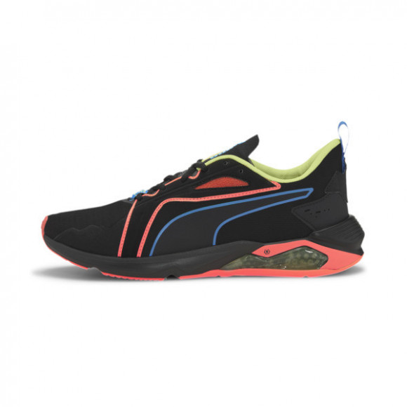 PUMA x FIRST MILE LQDCELL Method Xtreme Men's Training Shoes in Black/Orange/Yellow - 193726-02
