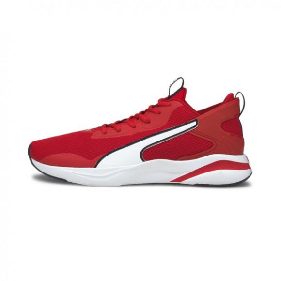 PUMA SoftRide Rift Men's Running Shoes in High Risk Red/White/Black - 193733-10