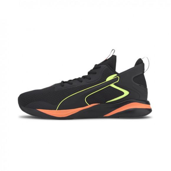 PUMA SOFTRIDE Rift Tech Men's Running Shoes in Black/Ultra Orange, Size 13 - 193737-02