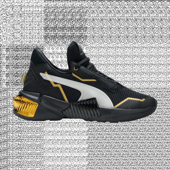 PUMA Provoke XT Women's Training Shoes in Black/Team Gold, Size 9.5 - 193784-01