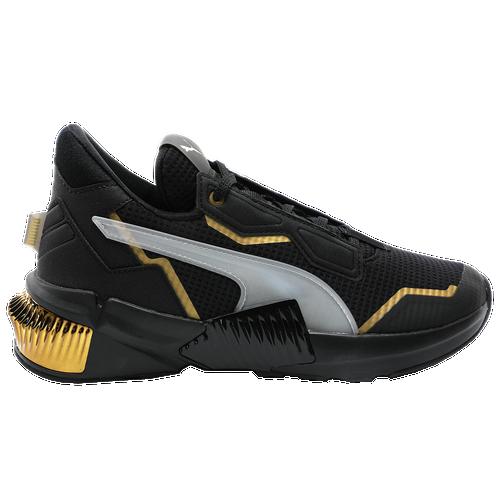 PUMA Provoke XT Mid - Women's Running Shoes - Black / Gold - 19378401