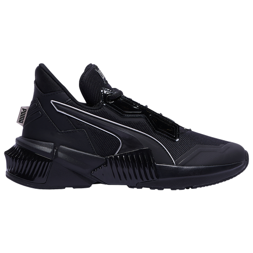 PUMA Provoke XT Mid - Women's Running Shoes - Black / Black / Black - 19378702
