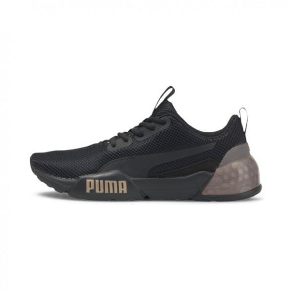 PUMA CELL Vorto Gleam Women's Sneakers in Black/Rose Gold, Size 8.5 - 193931-03