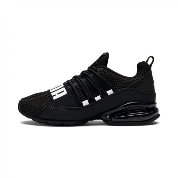PUMA Cell Regulate Woven Jr Shoes in Black/White - 193957-01