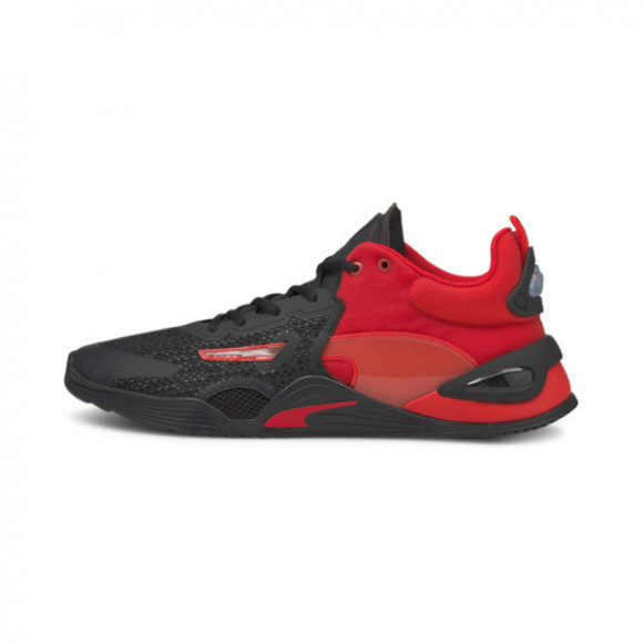 PUMA FUSE Training Shoes in Poppy Red/Black - 194419-06