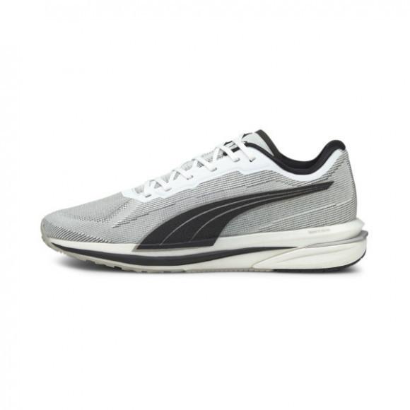 PUMA Velocity NITRO Men's Running Shoes in White/Black