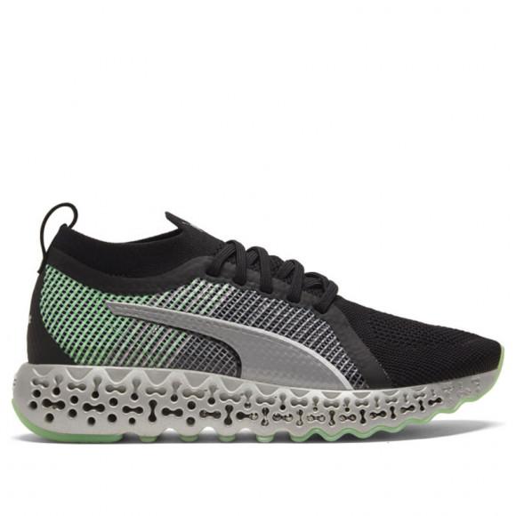 PUMA Calibrate Runner Women's Shoes in Black/Elektro Green - 194768-02