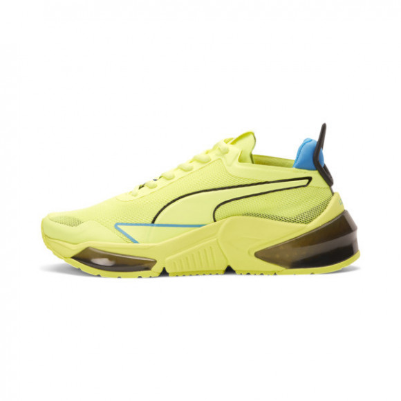 PUMA x FIRST MILE LQDCELL Optic Xtreme Training Shoes JR in Yellow/Nrgy Blue/Black - 194806-01