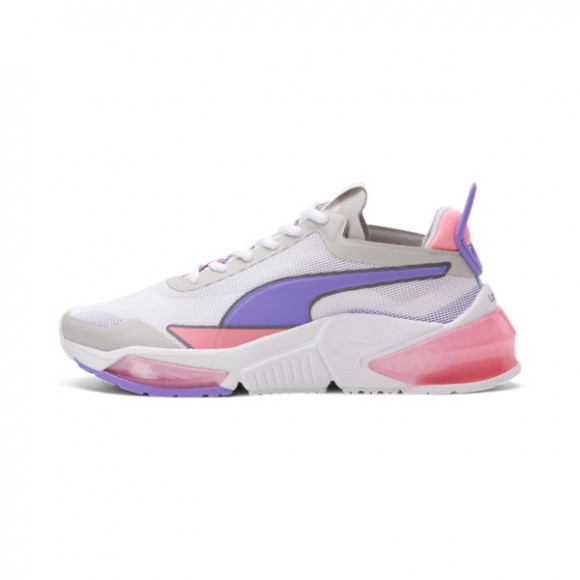 PUMA x FIRST MILE LQDCELL Optic Xtreme Training Shoes JR in White/Purple/Peach - 194806-02