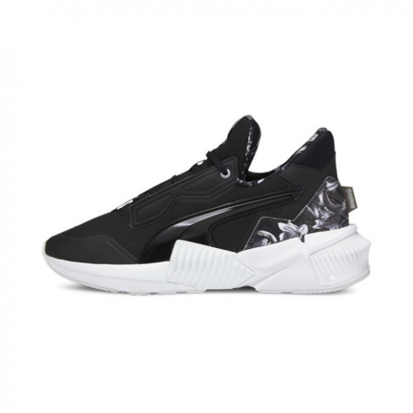 PUMA Provoke XT Untamed Floral Women's Training Shoes in Black/White - 195055-01