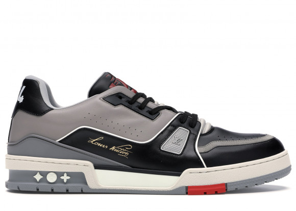 Louis Vuitton LV Trainer Sneaker Low Black Grey - 1A54H5