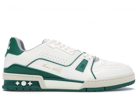Louis Vuitton LV Trainer Sneaker Low White Green - 1A54HS