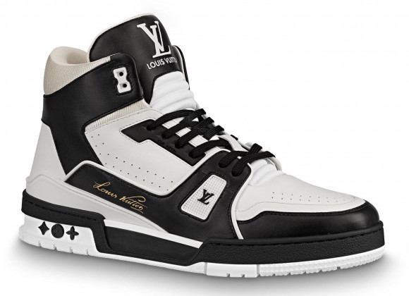 Louis Vuitton Trainer Black White - 1A5QCL