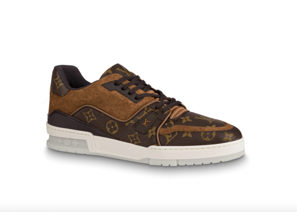 Louis Vuitton Trainer Suede Monogram - 1A5UR4