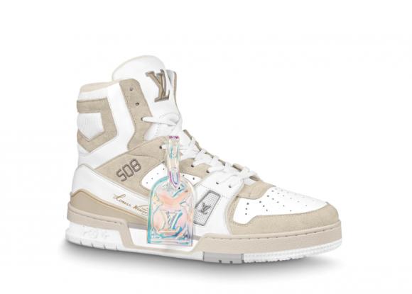 Louis Vuitton Trainer Sneaker White Iridescent - 1A7P27