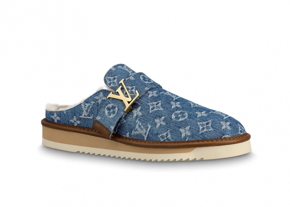 Louis Vuitton Cosy Mule Monogram Denim - 1A81GB