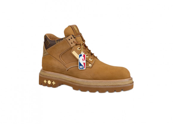 Louis Vuitton x NBA Oberkampf Ankle Boot Beige - 1A8EMF