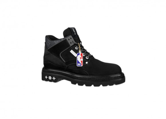 Louis Vuitton x NBA Oberkampf Ankle Boot Black - 1A8EMU