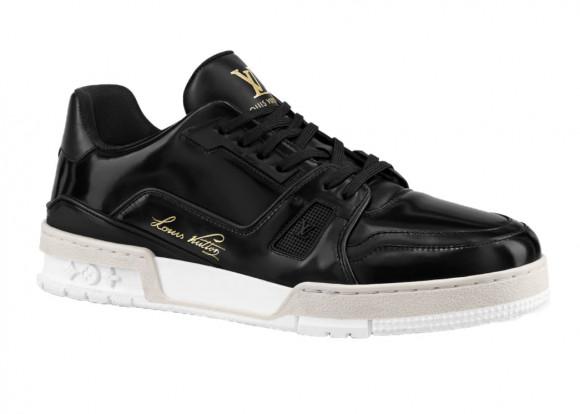Louis Vuitton Trainer Black Glazed Signature - 1A8IK6