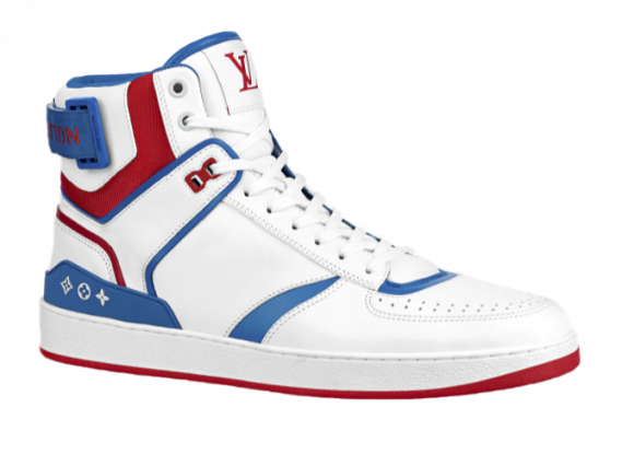Louis Vuitton Rivoli Sneaker Red White Blue FW20 - 1A8K89