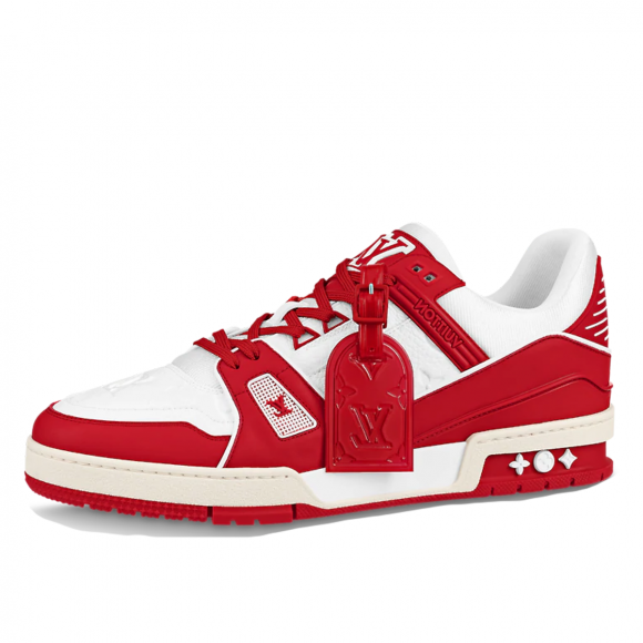 Louis Vuitton x Virgil Abloh Trainers Red White - 1A8PJW