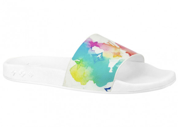 Louis Vuitton Waterfront Mule Multicolor Watercolor - 1A8SM3