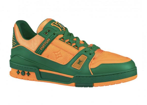 Louis Vuitton Trainer Green Orange - 1A8WFY