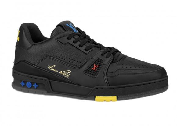 Louis Vuitton Trainer Black Signature - 1A8ZQJ