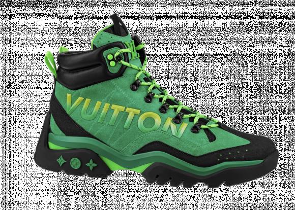 Louis Vuitton Millenium Ankle Boot Green Black - 1A9931