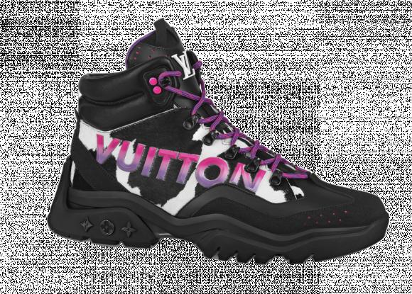 Louis Vuitton Millenium Ankle Boot Black Pink - 1A995F