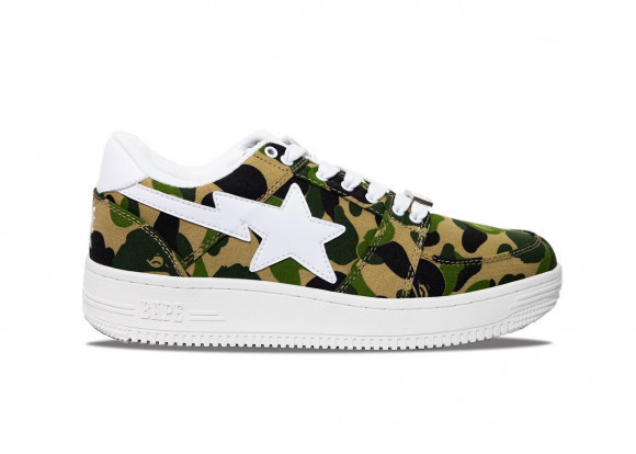 A Bathing Ape Bapesta ABC Camo 20th Anniversary Green - 1C70191020/1G30-191-001