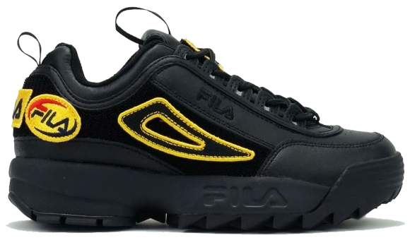 Fila Disruptor 2 Patches Black - 1FM00413-001