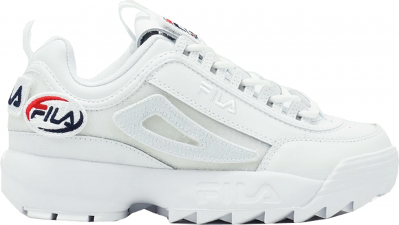 Fila Disruptor 2 Patches White - 1FM00413-100
