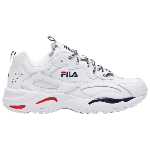 Fila Ray Tracer - Men's Training Shoes - White / Navy / Red - 1RM00661-125