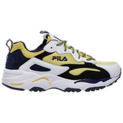 Fila Ray Tracer - Men's Training Shoes - Lemonade / White / Black - 1RM00730-702