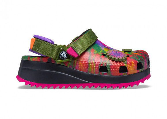 Crocs Classic Hiker Peace Out Green - 207295-928/207295-988
