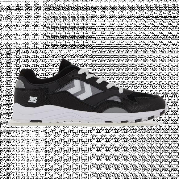 Hummel  EDMONTON 3S LEATHER  men's Shoes (Trainers) in Black - 208367-2001