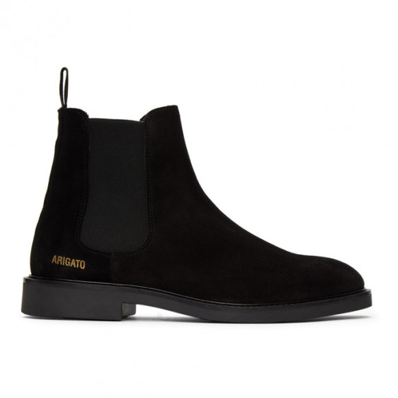 Axel Arigato Black Suede Chelsea Boots - 21002