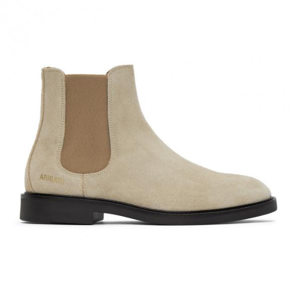 Axel Arigato Beige Suede Chelsea Boots - 21003