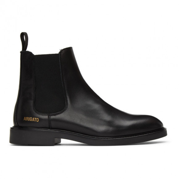 Axel Arigato Black Leather Chelsea Boots - 21004