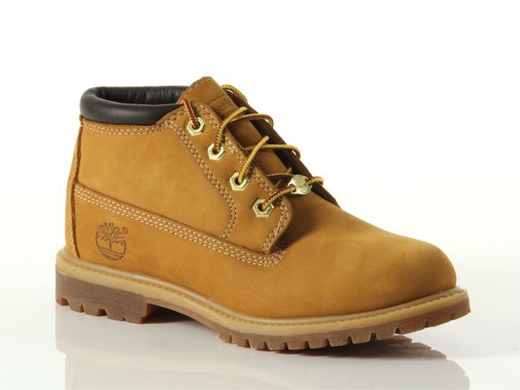 Timberland Nellie Chukka Double Waterproof Boots Casual Shoes Tan- Womens- Size 5.5 D - 23399