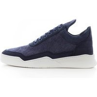 Filling Pieces Low Top Ghost Canvas, Navy - 25222731658