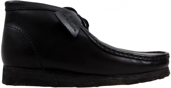 Clarks Wallabee Boot Black Leather - 26103666