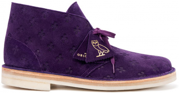 Clarks Originals Desert Boot OVO Purple - 26130900