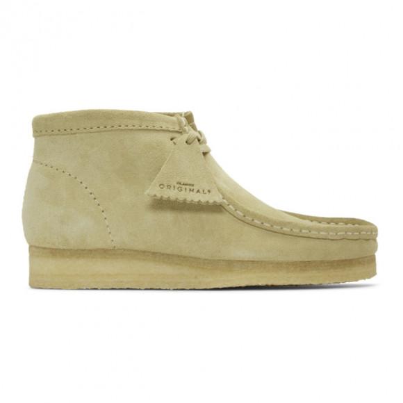 Mens Clarks Originals Wallabee Chukka Boot - Sand - 26133283